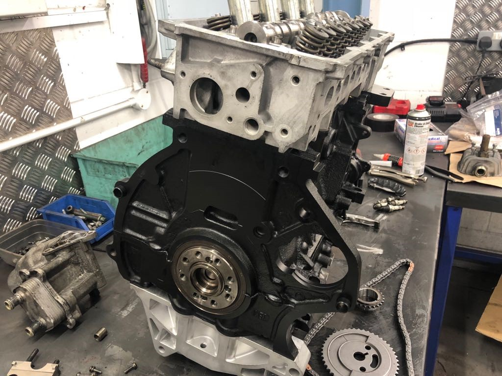 Refurbished Mini Cooper S Engine